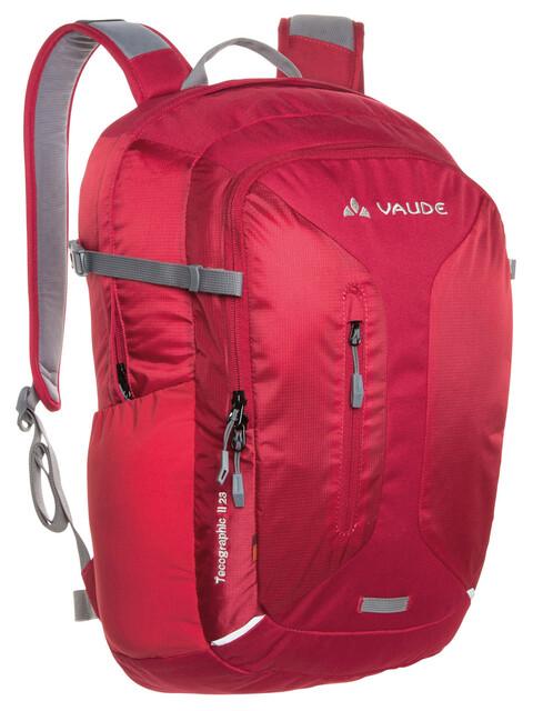 VAUDE Tecographic II 23 Daypack indian red